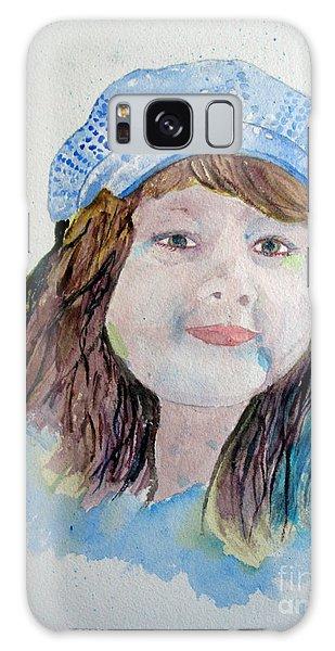 Sarah Galaxy Case by Sandy McIntire