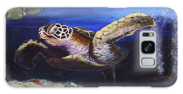 Sea Turtle Galaxy Case