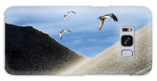 Seagulls Galaxy Case by Michael Mogensen
