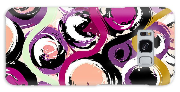 Bright Galaxy Case - Seamless Background Pattern, With by Kirsten Hinte