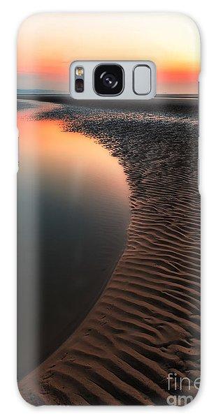 Seascape Sunset Galaxy Case