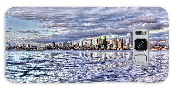 Seattle Skyline Cityscape Galaxy Case