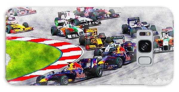 Sebastian Vettel Leads The Pack Galaxy Case