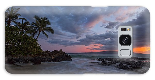 Secret Beach Sunset Galaxy Case by James Roemmling