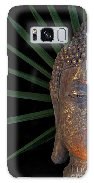 Eyes Of Buddha Galaxy Case by Dodie Ulery