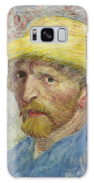 Art Institute Galaxy Case - Self-portrait With Straw Hat by Vincent van Gogh