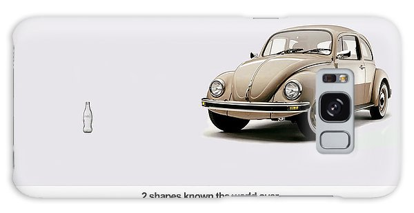 Volkswagen Galaxy Case - 2 Shapes Known The World Over by Mark Rogan