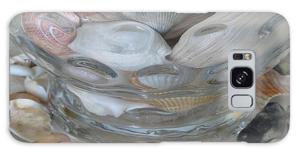 Shells In Bubble Bowl 2 Galaxy Case