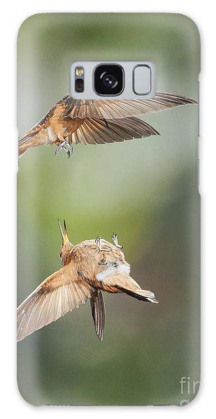 Shining Sunbeam Hummingbirds Galaxy Case