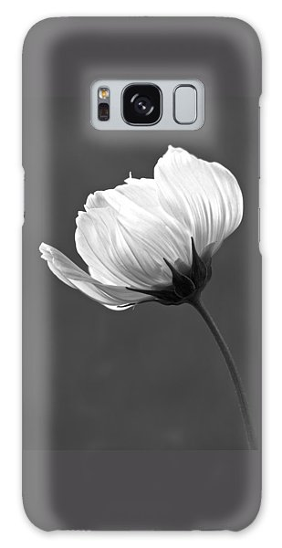 Simply Beautiful In Black And White Galaxy Case by Penny Meyers