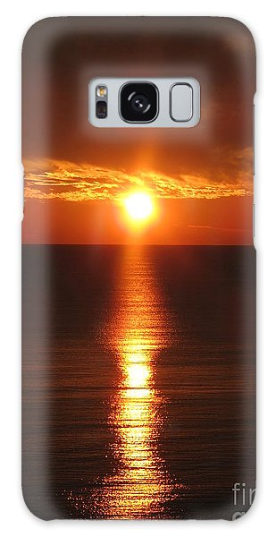 Sky On Fire Galaxy Case by Christiane Schulze Art And Photography