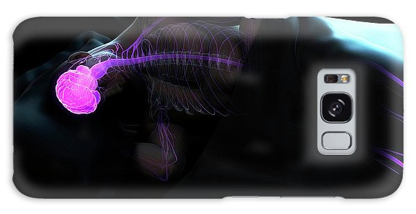 Nervous System Galaxy Case - Sleeping Man by Sciepro/science Photo Library