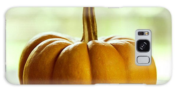 Autumn Galaxy Case - Small Orange Pumpkin by Iris Richardson