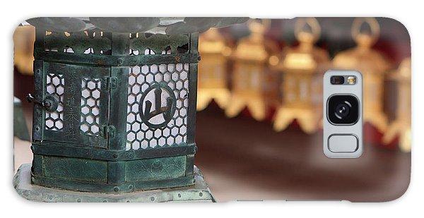 Kansai Galaxy Case - Smaller Metal And Gold Lanterns by Paul Dymond