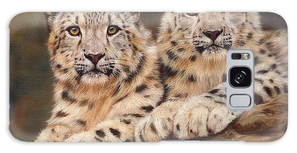 Snow Leopards Galaxy Case