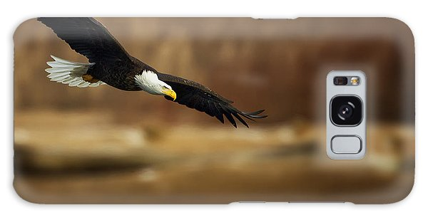 Soaring Bald Eagle Galaxy Case