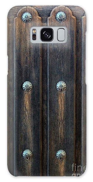 Southwestern Door Galaxy Case by Gina Savage
