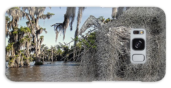 Spanish Moss Galaxy Case by Andy Crawford