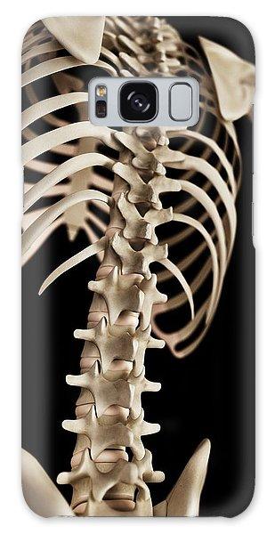 No-one Galaxy Case - Spine by Sebastian Kaulitzki