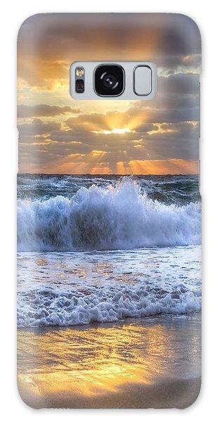 Splash Sunrise Galaxy Case