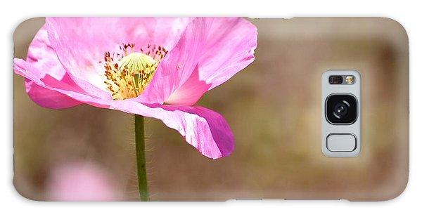 Spring Poppy Flower Galaxy Case by P S
