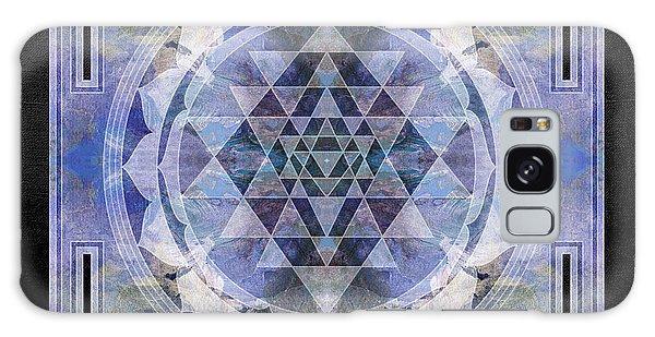 Buddhism Galaxy Case - Sri Yantra  by Filippo B