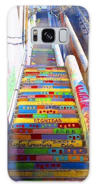 Stairway To Heaven Valparaiso  Chile Galaxy Case