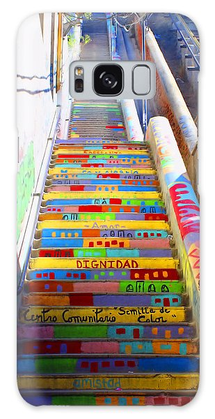 Stairway To Heaven Valparaiso  Chile Galaxy Case