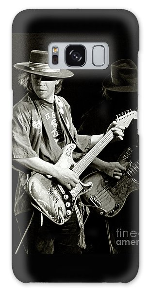 Rock And Roll Galaxy S8 Case - Stevie Ray Vaughan 1984 by Chuck Spang