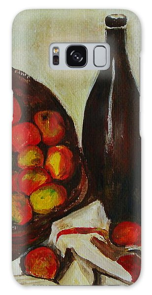 Still Life With Apples After Cezanne - Painting Galaxy Case