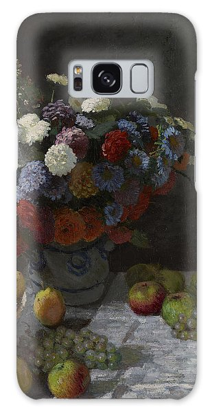 Still Life With Flowers And Fruit Galaxy Case