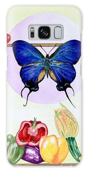 Still Life With Moth #2 Galaxy Case by Thomas Gronowski