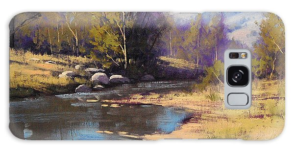 Stream Galaxy Case - Summer River by Graham Gercken