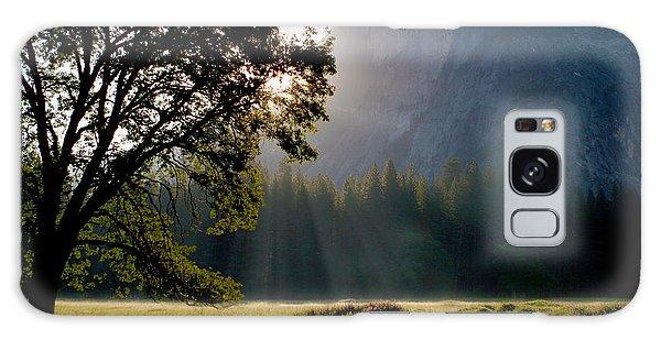 Summer Sunrise In Yosemite Valley Galaxy Case