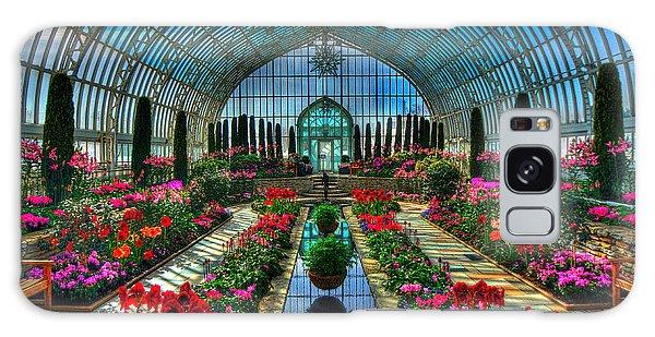 Sunken Garden Como Conservatory Galaxy Case