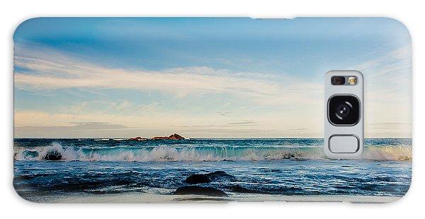 Sunlight On Beach Galaxy Case
