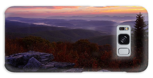 Sunrise At Dolly Sods In West Virginia Galaxy Case
