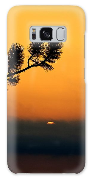 Sunset At Yosemite Galaxy Case