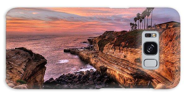 Sunset Cliffs Galaxy Case