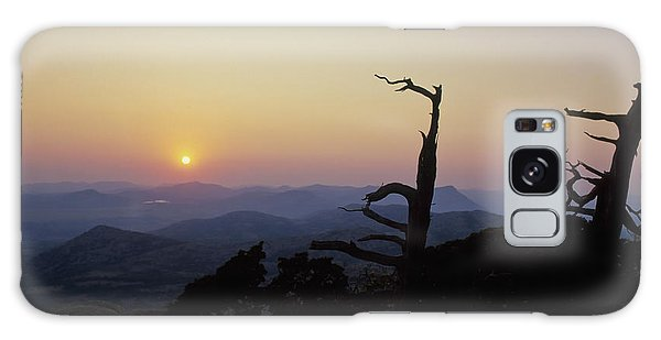 Sunset From Mt Scott Galaxy Case