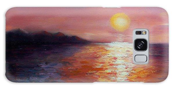 Sunset In Ixtapa Galaxy Case