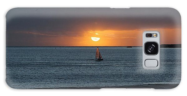 Sunset Sail Galaxy Case