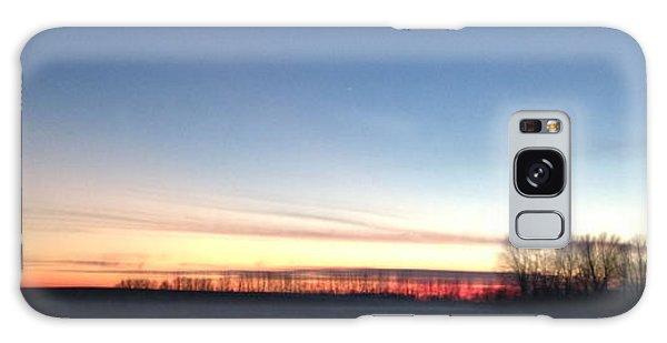 Sunset. Galaxy Case