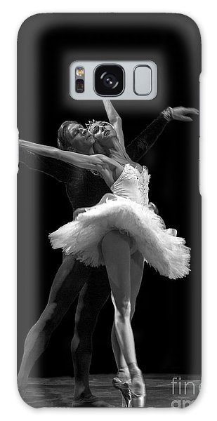 Swan Lake  White Adagio  Russia 3 Galaxy Case