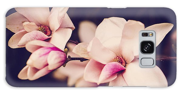 Sweet Magnolia Galaxy Case by Sara Frank