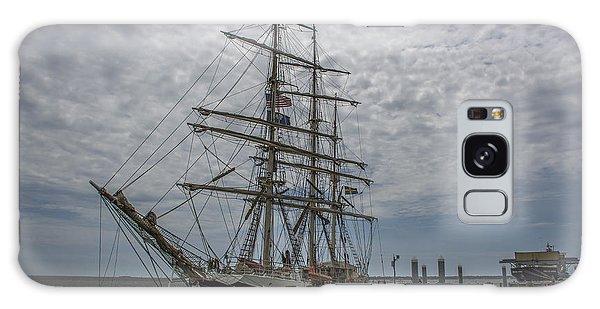 Tall Ship Gunilla Galaxy Case by Dale Powell