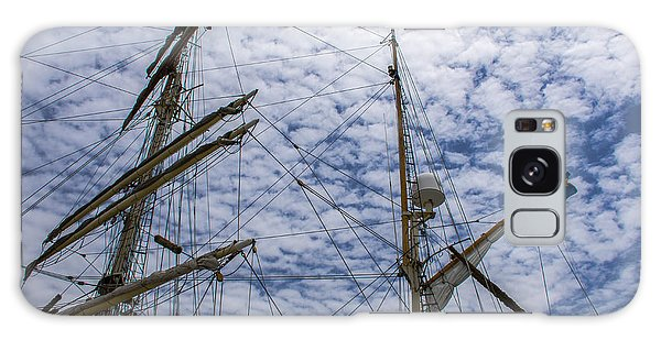 Tall Ship Mast Galaxy Case by Dale Powell