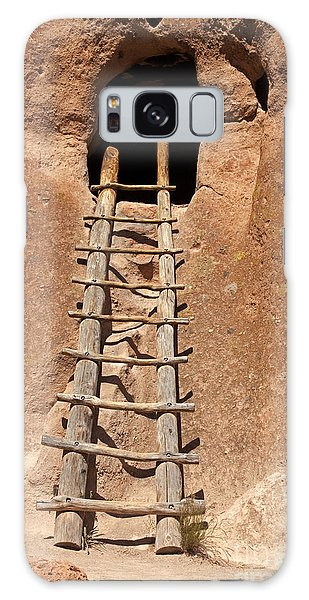 Talus House Front Door Bandelier National Monument Galaxy Case