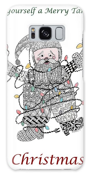 Tangled Santa Galaxy Case
