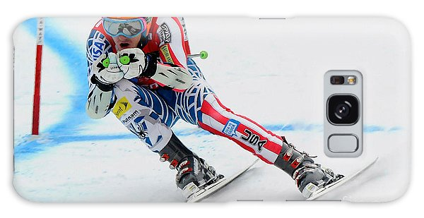 Ted Ligety Skiing  Galaxy Case